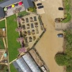 Brixworth Nursery Farm from above…