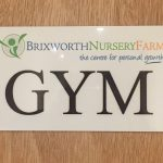Working out in the Brixworth Nursery Farm Gym